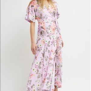 NEW French Connection Floral Wrap Dress